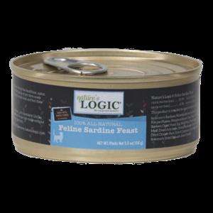 Nature's Logic Nature Logic Cat Sardine Feast 24/case 5 oz.