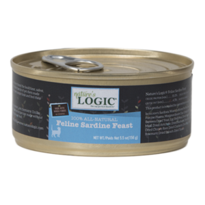 Nature's Logic Nature's Logic Cat Sardine Feast 24/case 5 oz.