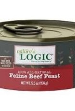 Nature's Logic Nature Logic Beef Feline Feast 24/case 5 oz.
