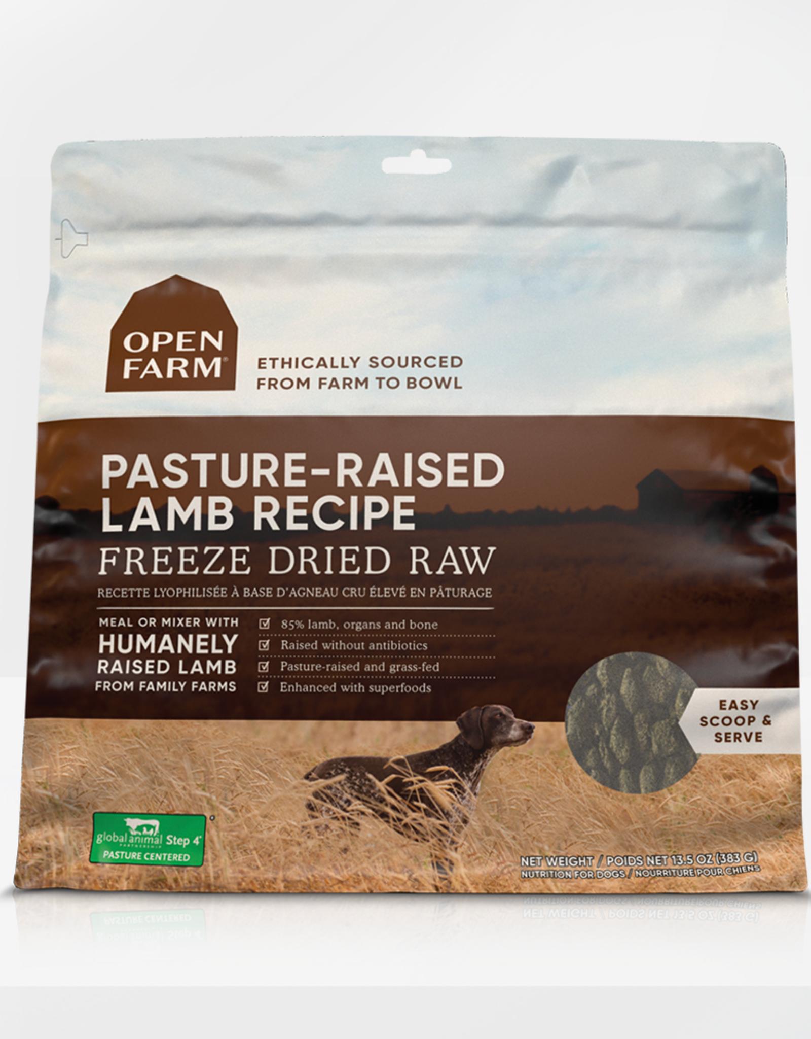 Open Farm Open Farm Dog FD Raw Lamb Pasture-Raised