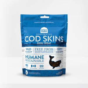 Open Farm Open Farm Dog Treat GF Dehydrated Cod Skin 2.25 oz