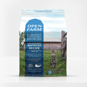 Open Farm Open Farm Cat Dry GF Whitefish Catch of the Season