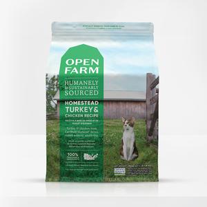Open Farm Open Farm Cat Dry GF Turkey & Chicken Homestead