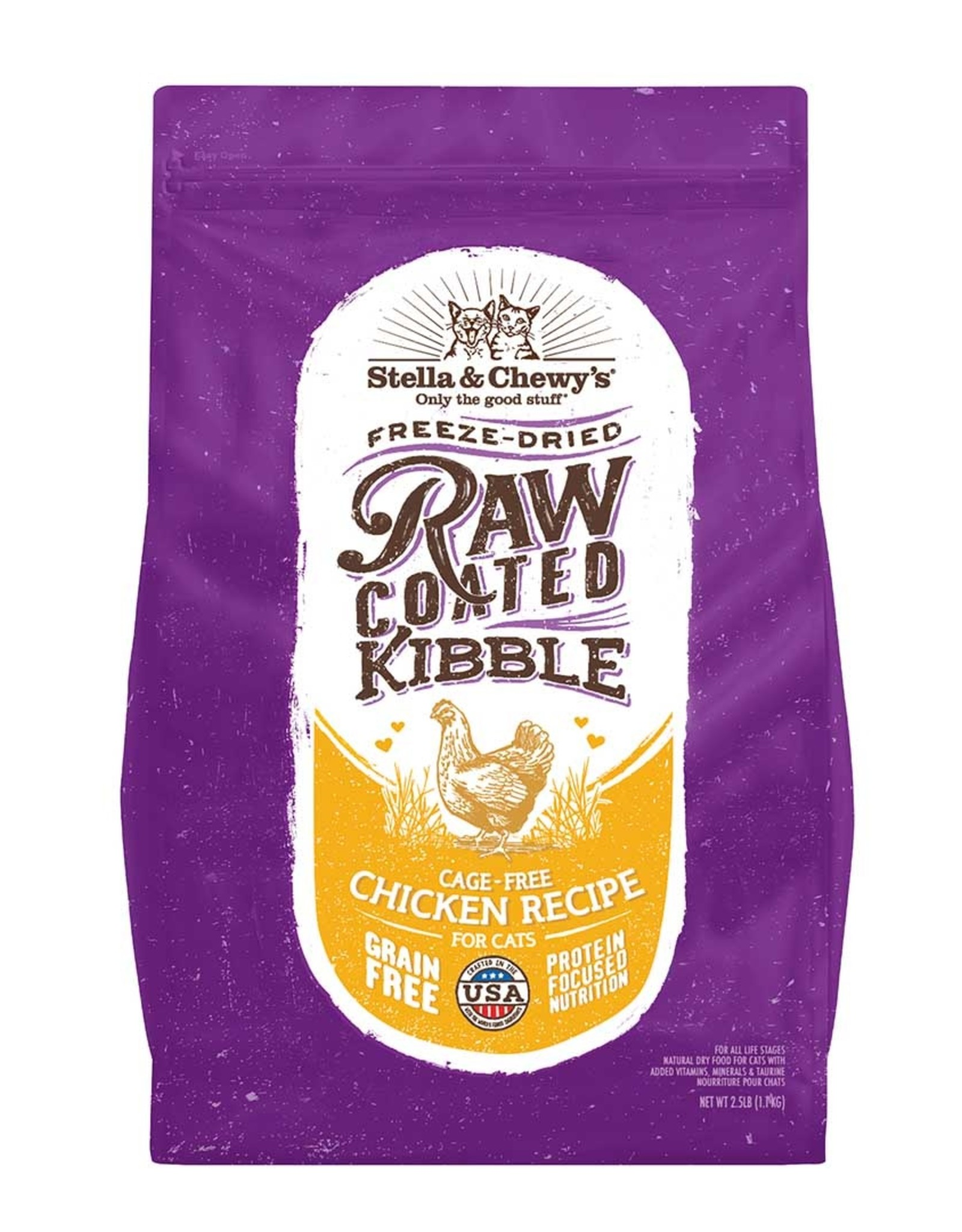 Stella & Chewy's Stella & Chewy's Cat  Raw Coated Chicken