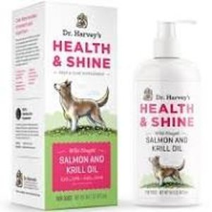 Dr. Harvey's Dr. Harvey health and shine-salmon & krill oil