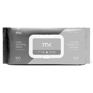 Modern Kanine MK Modern Kanine Wipes 100 Ct Black & Grey Coconut Scent