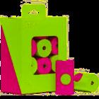 MK Modern Kanine 240 Bags (12 Rolls) Green & Pink Green & Pink
