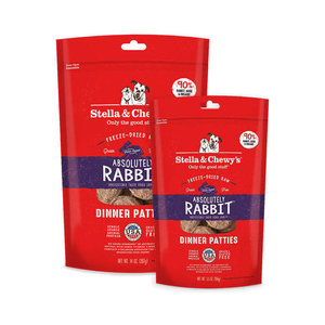 Stella & Chewy's Stella & Chewy's Dog FD Absolutely Rabbit Dinner Patties 14 oz