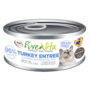 Pure Vita Cat GF Turkey Liver 5.5 oz can