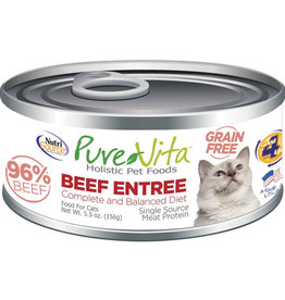 Pure Vita Pure Vita Cat GF beef Liver 5.5 oz can