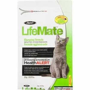 Pestell LifeMate Scoopable Cat Litter with pH Health Alert