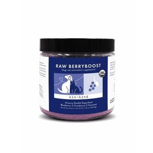 kin+kind kin+kind Raw BerryBoost (UTI Support Supplement for Dogs and Cats )