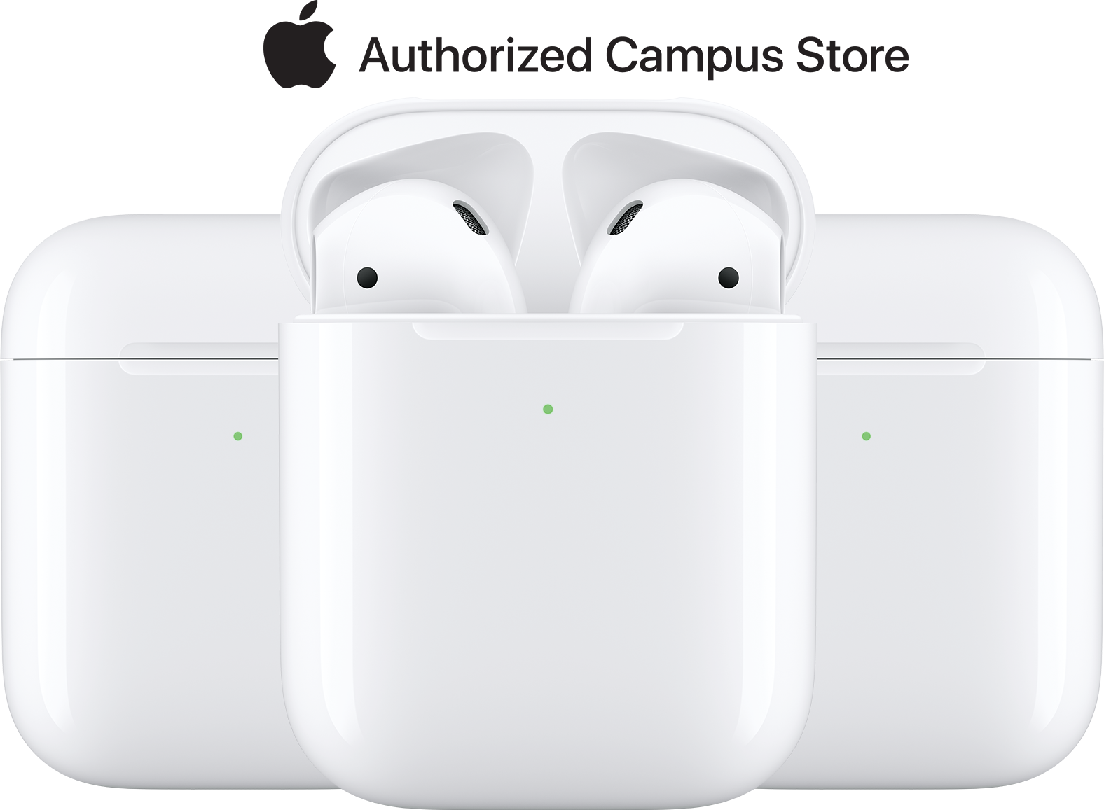 Apple Airpod Product Photo. Apple Authorized Campus Store