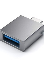 Satechi Satechi Aluminum Type-C to Type A USB 3.0 Adapter Space Gray