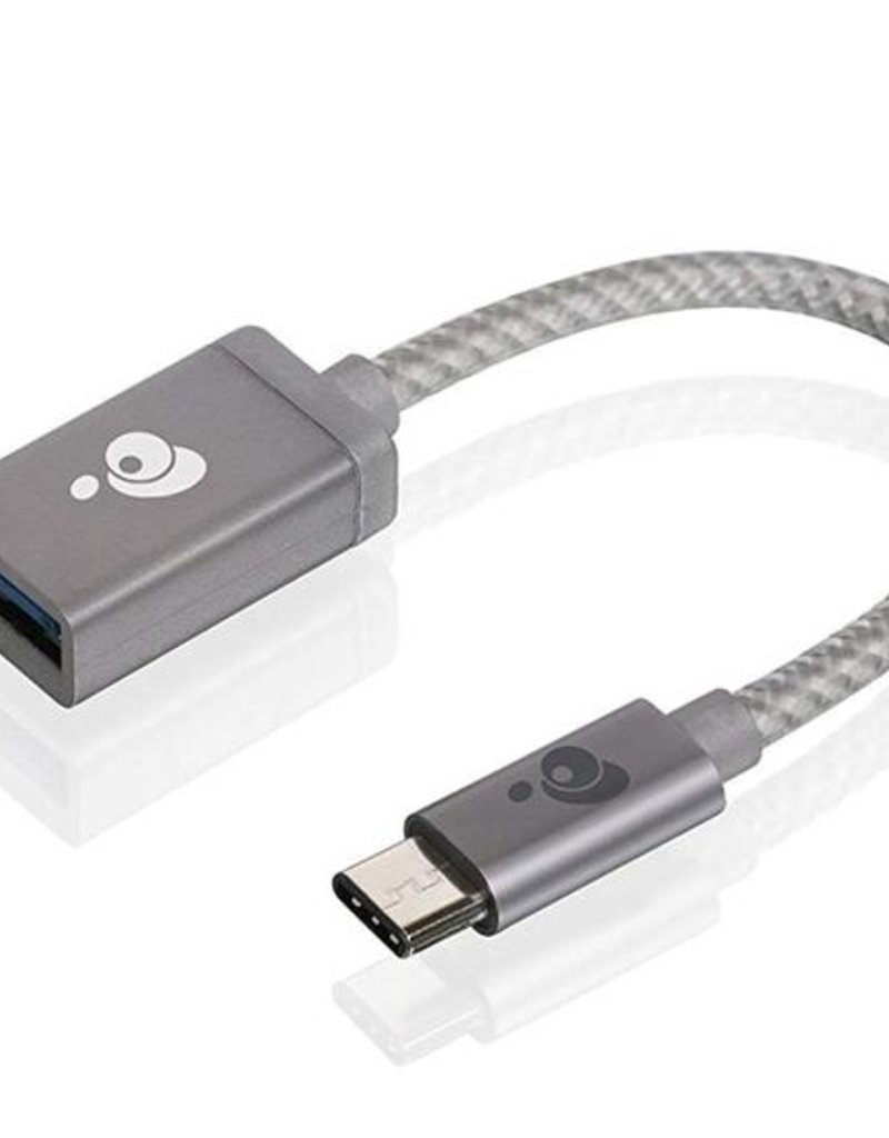 IOGear IOGear USB-C To USB Adapter Space Gray