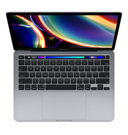 Apple Apple 13-inch MacBook Pro with Touch Bar Space Gray: 2.0GHz i5/16GB/1TB