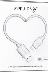 Happy Plugs Happy Plugs Charge & Sync Cable White 2m