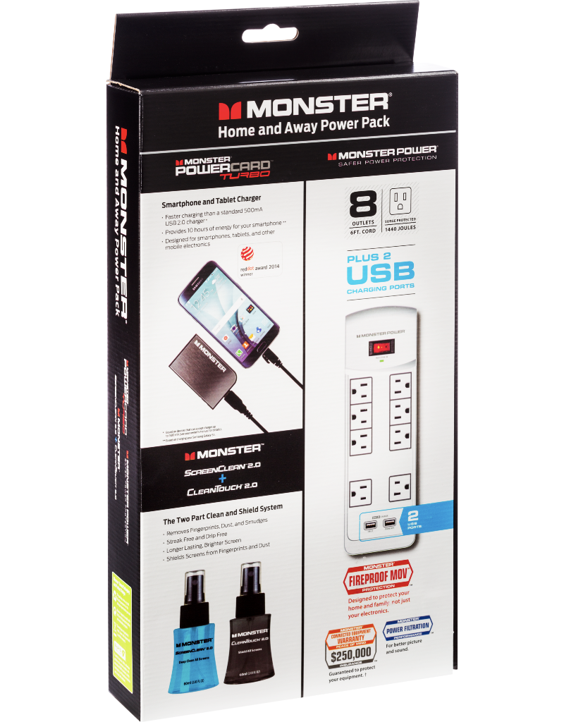 Monster Monster Home and Away Power Pack Bundle Box