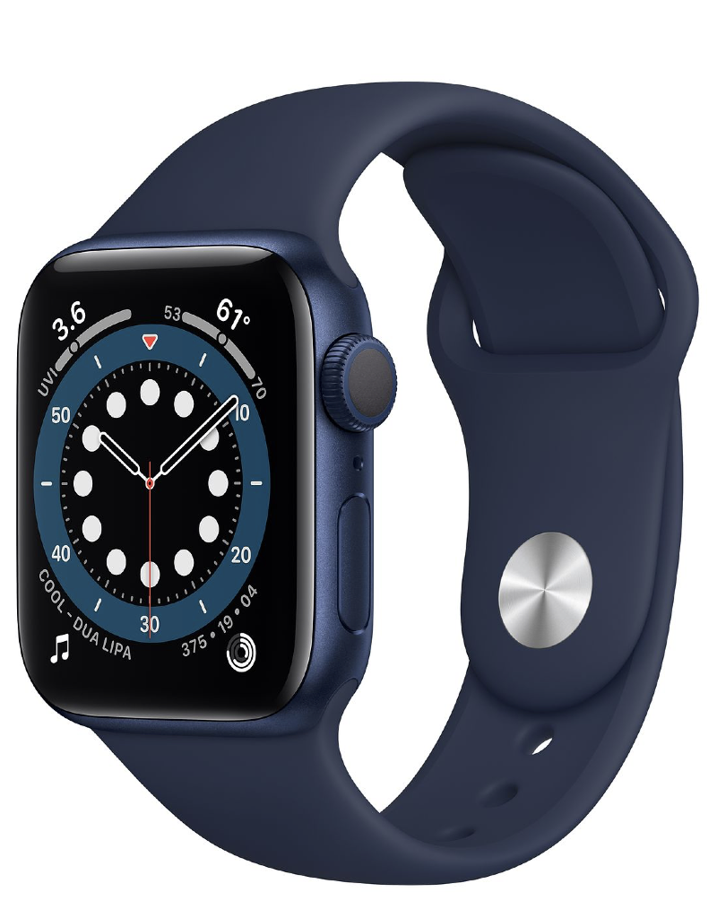 Apple Apple Watch Series 6 GPS 40mm Blue Aluminum w Deep Navy Sport Band