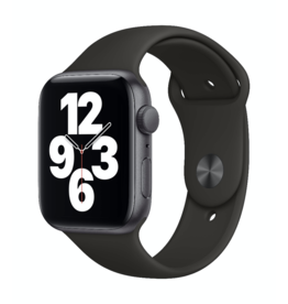 Apple Apple Watch SE GPS 44mm Space Gray Aluminum w Black Sport Band