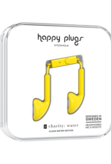 Happy Plugs Happy Plugs Earbuds with Mic Yellow
