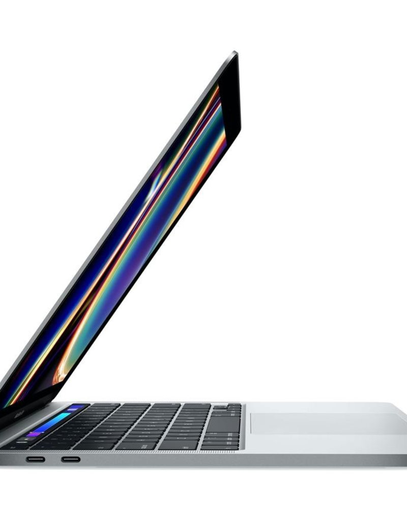 Apple (Prev Gen) Apple 13-inch Macbook Pro TB Silver 2.4GHz/8GB/256GB with AppleCare+ and Adapter