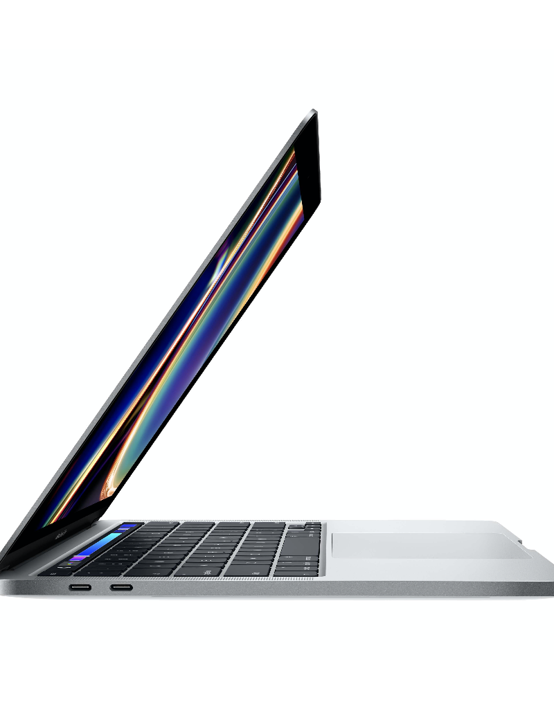 Apple (Prev Gen) Apple 13-inch MacBook Pro with Touch Bar Silver: 1.4GHz i5/8GB/256GB with AppleCare+ and Adapter