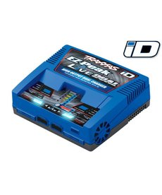 Traxxas 2973 Cargador EZ-Peak Live Dual 200W NiMH LiPo iD Identificación automática de la batería