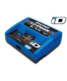Traxxas 2971 Cargador EZ-Peak Live 100W NiMH LiPo iD Identificación automática de la batería