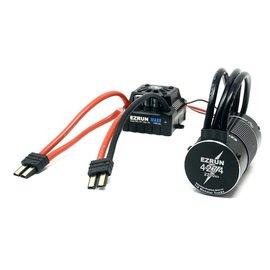 Hobbywing Hobbywing Ezrun Max8 V3 ESC / Motor Combo (2200kv) with Traxxas Plugs Waterproof w Program Box