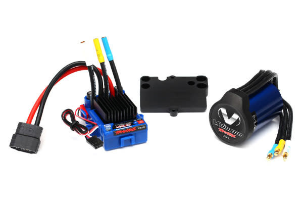Mounting plate electronic speed control Traxxas 3725R