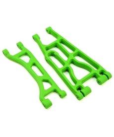 RPM Upper & Lower A-Arm Pair, Green: Traxxas X-Maxx
