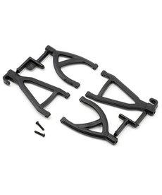 RPM 80602  RPM Rear Upper & Lower A-Arms (1/16 E-Revo) (Black)
