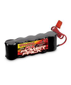 Traxxas Batería 3036, paquete de alimentación RX (estilo plano de 5 celdas, NiMH, 1200 mAh)