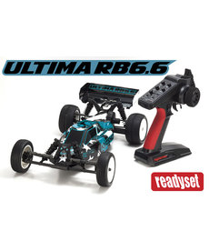 Kyosho 1/10 Scale RTR 2wd Buggy 34310B Ultima RB6.6 Readyset
