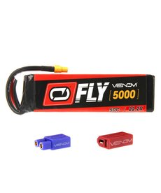 Venom 25048 50C 6S 5000mAh 22.2V LiPO Battery with Universal 2.0 Plug