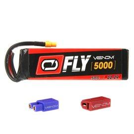 Venom 5000mAh 6S 22.2V 50C LiPo, FLY :UNI 2.0 Plug