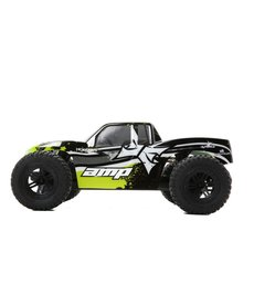 ECX AMP MT 1:10 2WD Monster Truck: Black/Green RTR