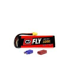 VNR 25007 Fly 30C 3S 3200mAh 11.1V Batería LiPo con enchufe UNI 2.0