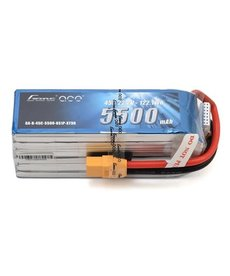 Gens Ace Gens Ace 6S Soft Case 45C LiPo Battery (22.2V/5500mAh)