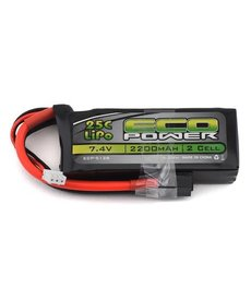 "Eco Power EcoPower ""Electron"" 2S LiPo 25C Battery (7.4V/2200mAh)"