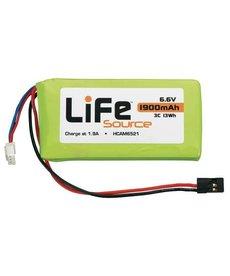 HCA LiFeSource LiFe 6.6V 1900mAh 3C