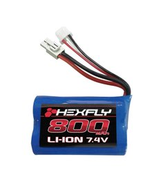 Redcat Racing 28021T Li-ion Battery (7.4V,800mAH) with mini Tamiya connector
