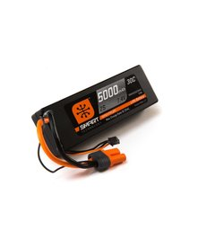 Spektrum 5000mah 2S 7.4V Smart LiPo 30C Hardcase; IC5