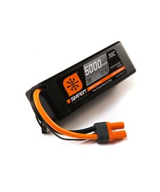 Spektrum 5000mah 3S 11.1V Smart LiPo 30C Hardcase; IC5