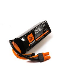 Spektrum 3200mah 6S 22.2V Smart LiPo 30C; IC5