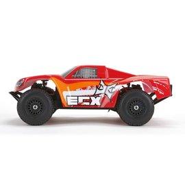 ECX Torment 1/18 4WD Short Course Truck: Red/OrangeRTR