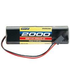 Onyx NiMH 9.6V 2000mAh AA Transmitter Rect Universal