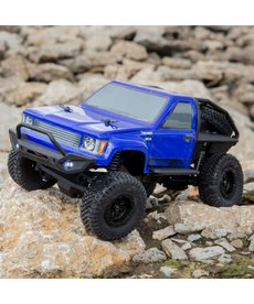 ECX 1/24 Barrage 4WD Scaler Rock Crawler RTR, Blue (ECX00017T2)