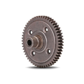 Traxxas Spur gear, steel, 54-tooth (0.8 metric pitch, compatible with 32-pitch) (requires #6780 center differential)